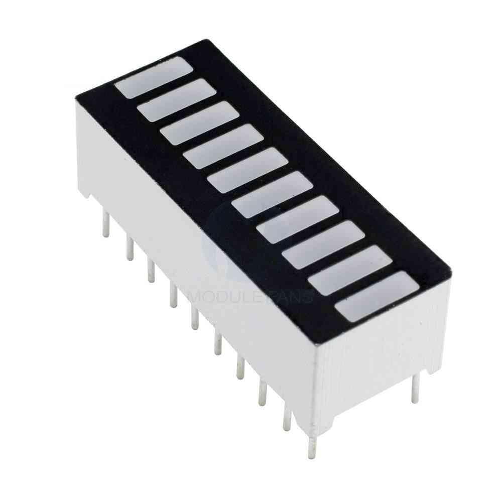 Led Display Module Segment Bargraph Light Bar Graph Ultra Bright