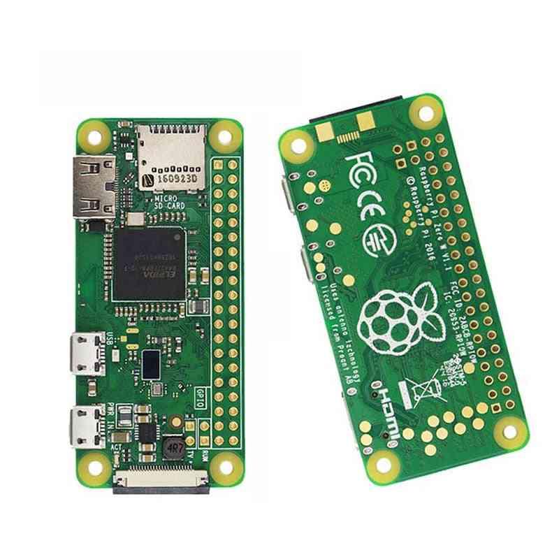 Pi Zero/ Zero W/zero Wh Wireless Wife Bluetooth Board With 1ghz Cpu 512mb Ram, Pi Zero Version 1.3