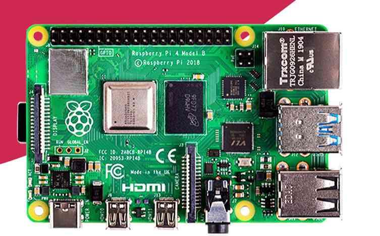 Pi 4 Model B 2gb Ram Bcm2711 Quad Core Cortex-a72 Arm V8 1.5ghz Support 2.4/5.0 Ghz Wifi Bluetooth 5.0