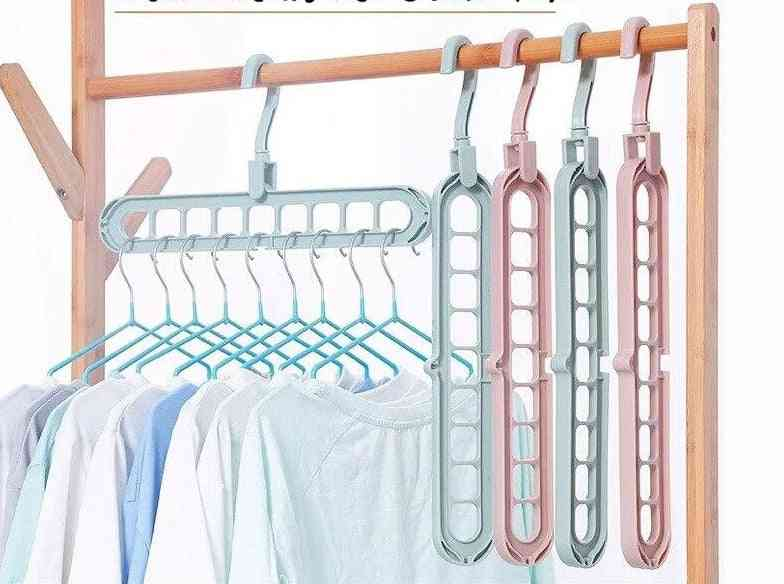Perforated Support Clothes Rack