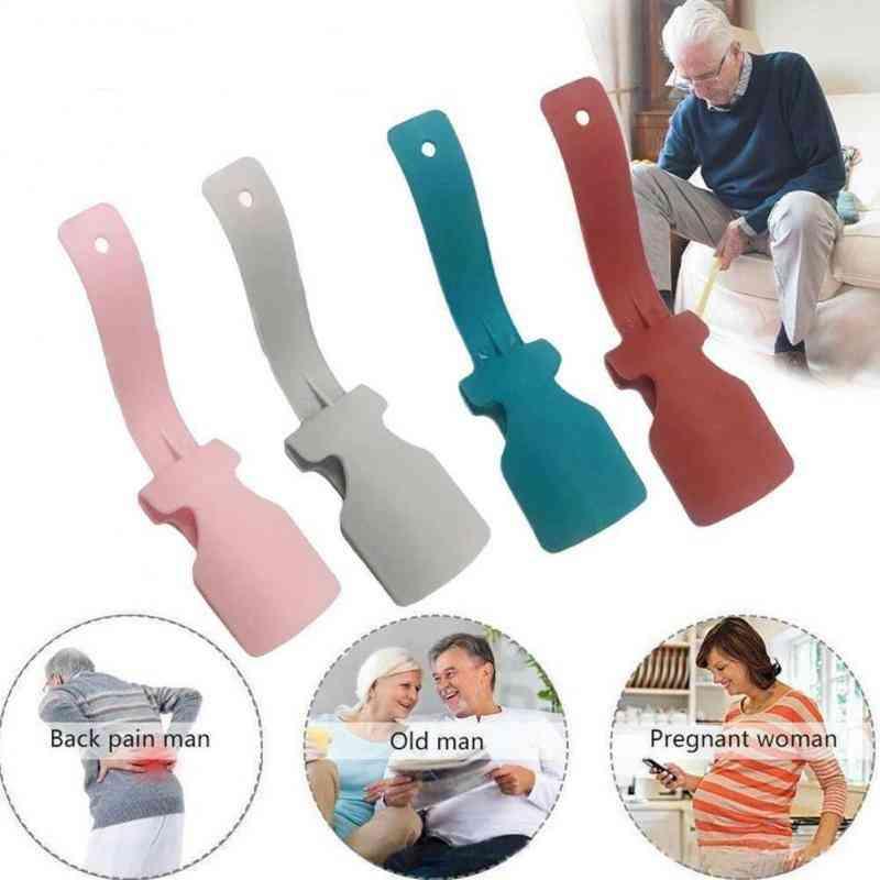 Portable, Shoehorn, Helper Handled, Wear Shoe Hanger