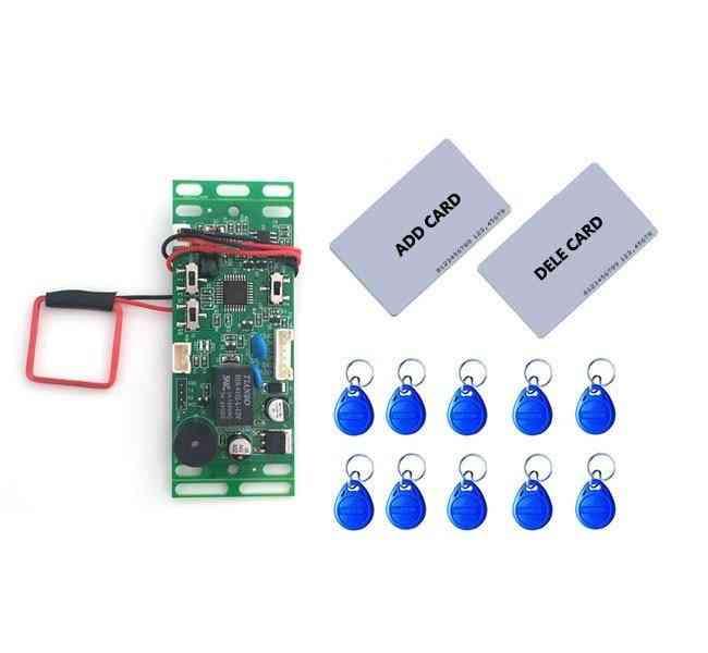 Rfid Em/id- Embedded Door Intercom Access, Lift Control With Mother Card Key Fob