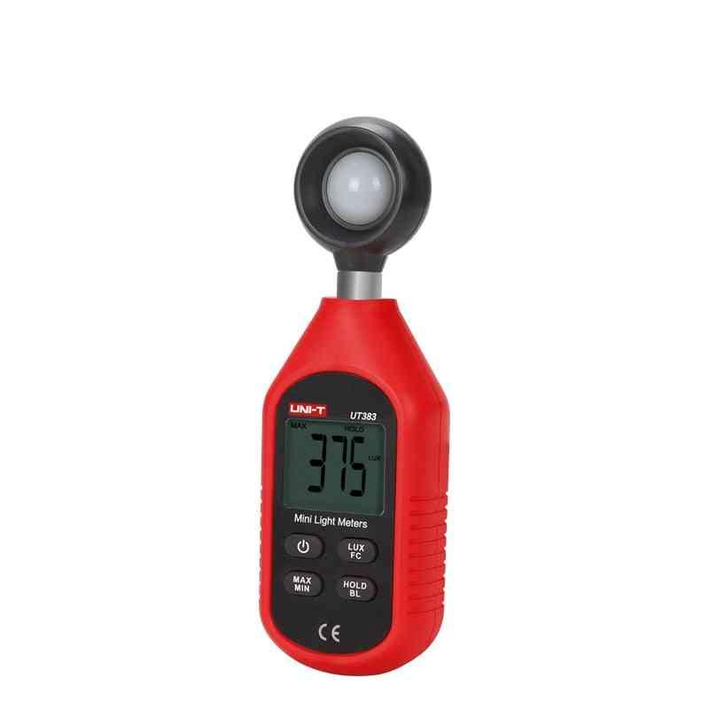 Digital Luxmeter, Luminance Lux Fc Test Max Min Illuminometers Photometer