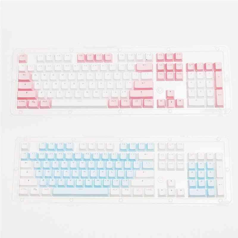 104 Keys Mechanical Keyboard Double Shot Keycap