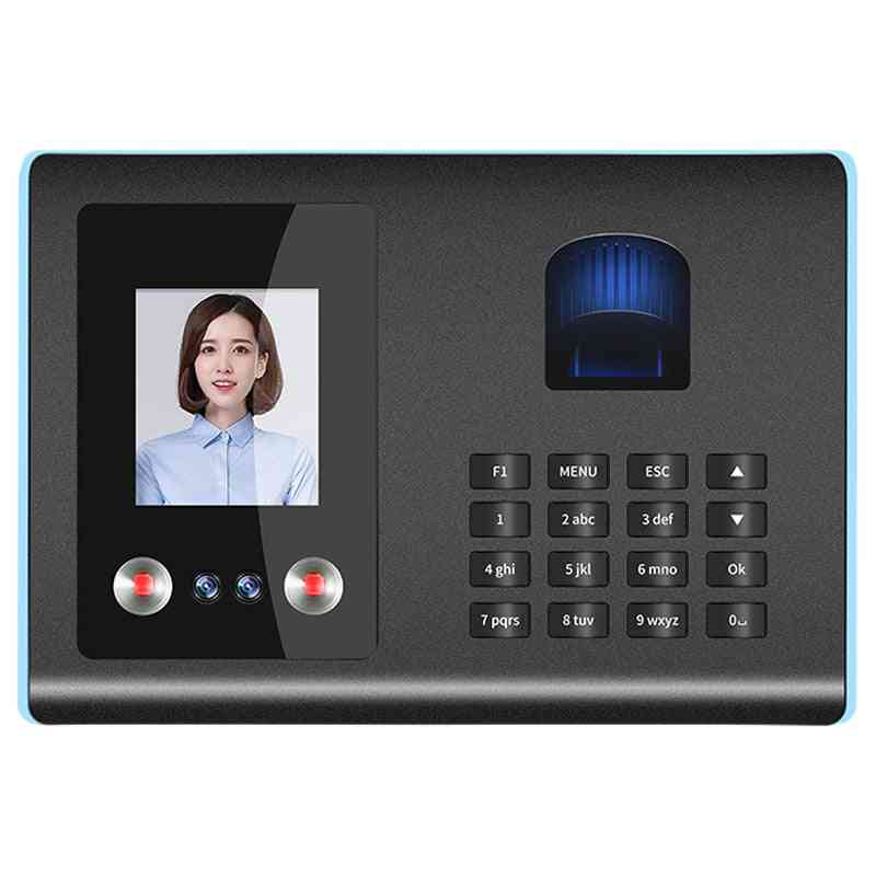 Face Recognition, Biometric Fingerprint And Pin Time Attendance For Employee Time Clock