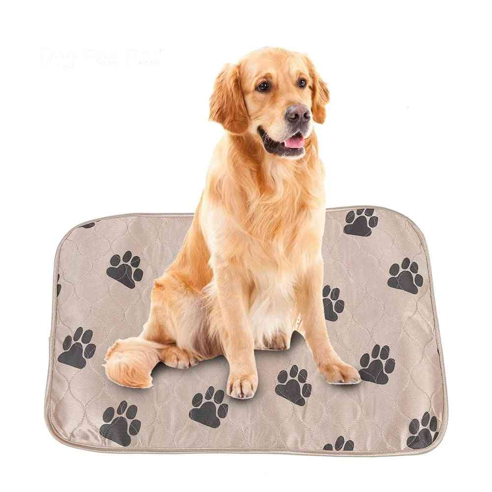 Reusable Waterproof Dog Pee Pad Bed Urine Mat For Pet Cats Repeatable Washable Absorbent Supplies