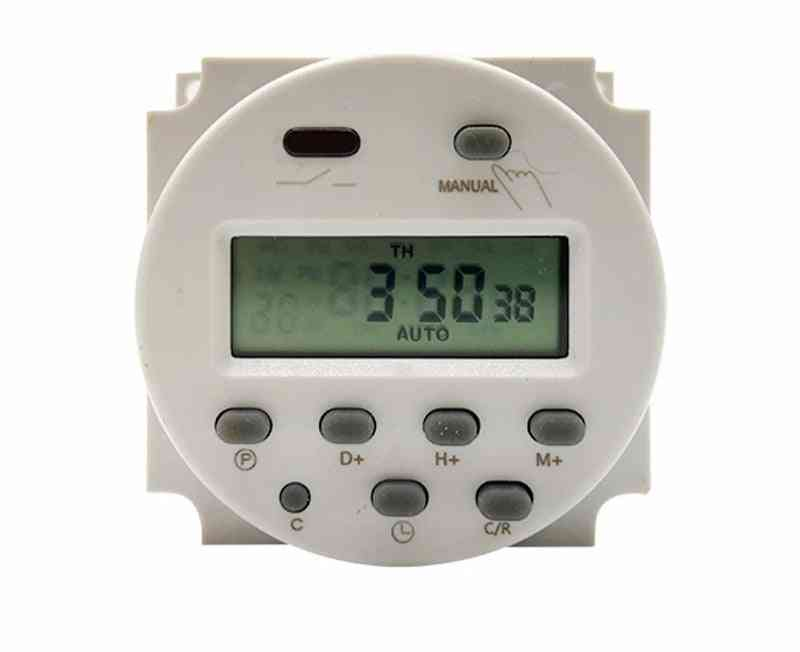Single Double Countdown Micro Cycle Time Control Switch Timer Controller Seconds 16a