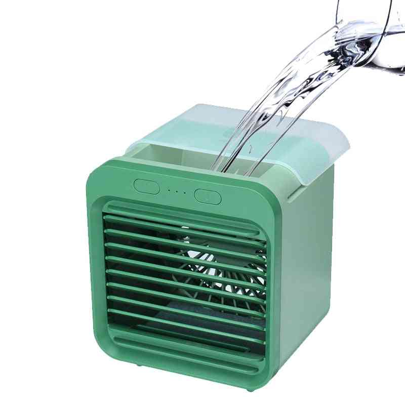 Mini Portable Air Conditioner, Humidifier With Water Tank