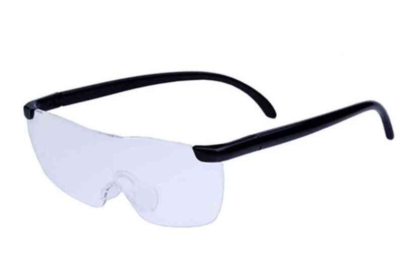 Magnifier Glasses Magnifying Eyewear Reading Portable For Parents (1pcs Glasses)
