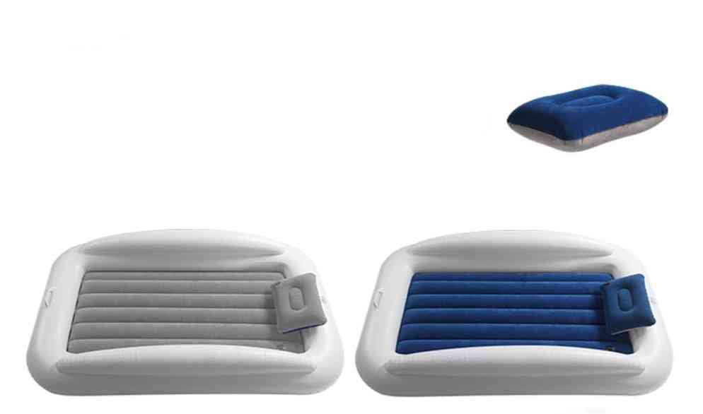 Travel Bed With Safety Bumpers Blow Up Mattress
