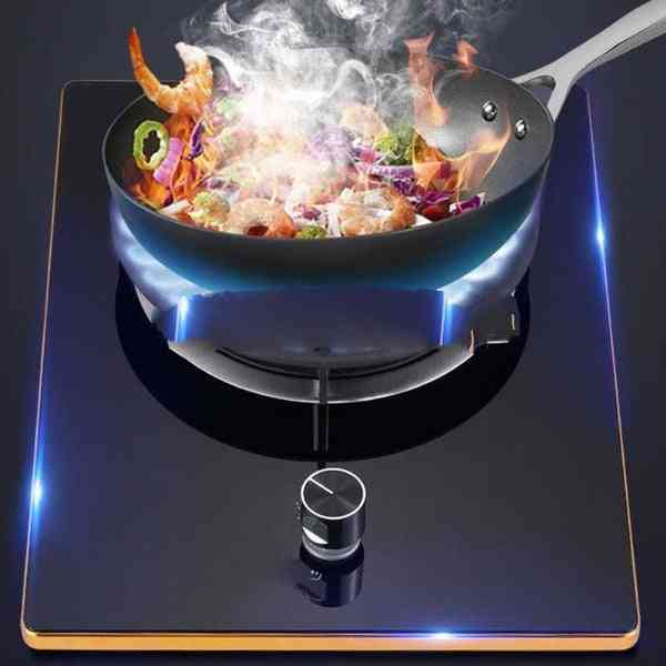 Gas Stove, Tempered Glass Energy Saving Fierce Fire Cooking