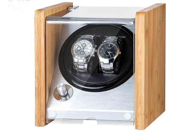 Wooden Acrylic Window Carbon Fiber Quiet Motor Storage Display Box
