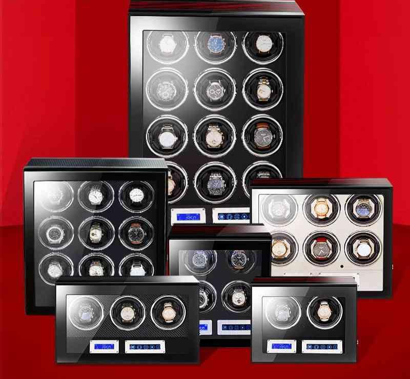 Remote Control Mechanical Watch Winder Box