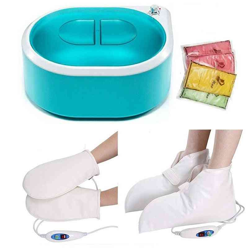 Wax Warmer Paraffin Heater Machine With Heated Electrical Booties And Gloves, Continuous Hydrating Heat Therapy