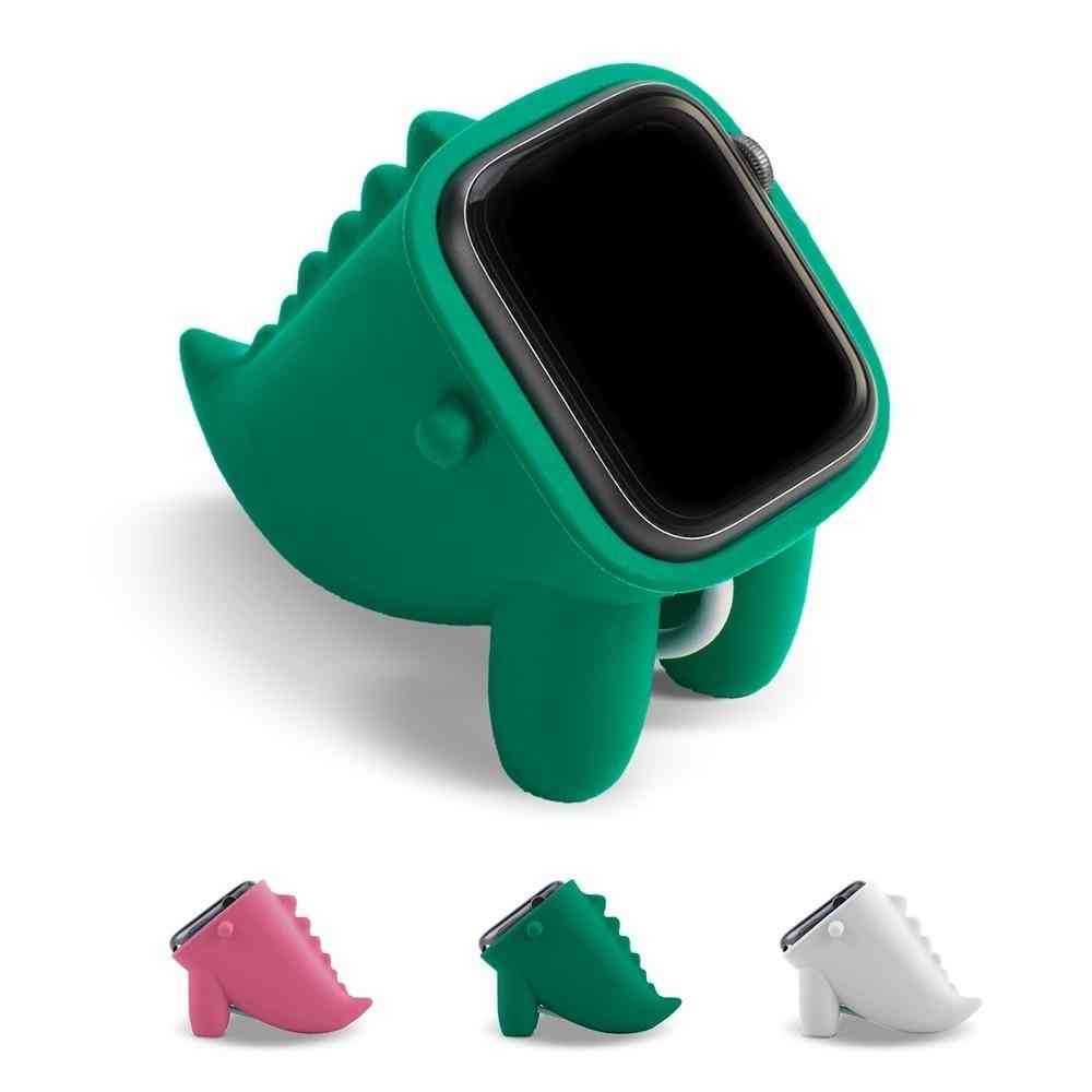 Dinosaur Stand For Apple Watch Holder, Home Charging Dock For Iwatch