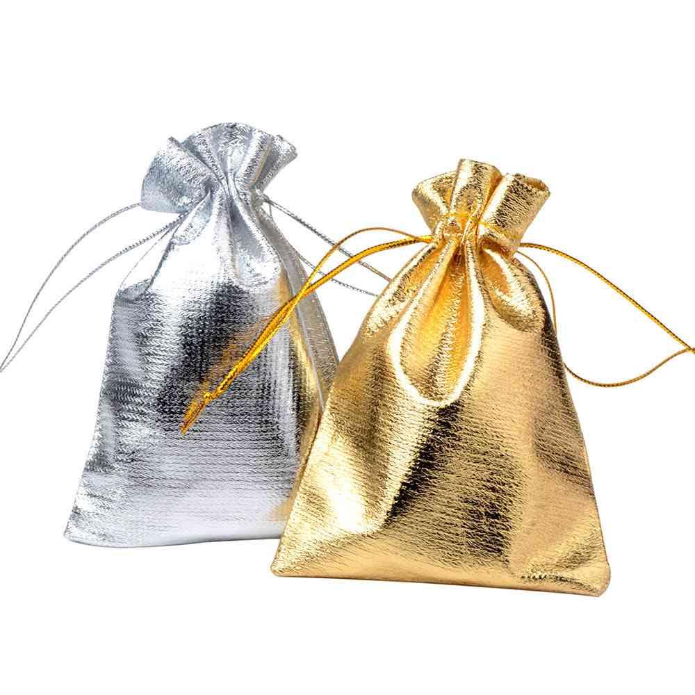 Adjustable Jewelry Packaging Drawstring Velvet Bag, Wedding Bags