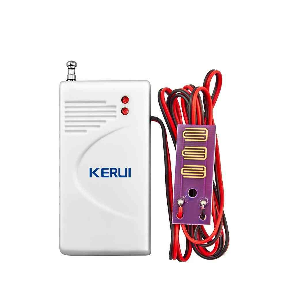 Wireless Water Leak Sensor For Home Security Gsm/pstn Alarm System