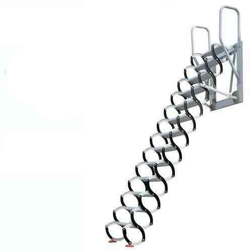Family Hidden Telescopic Stairs Folding Ladder