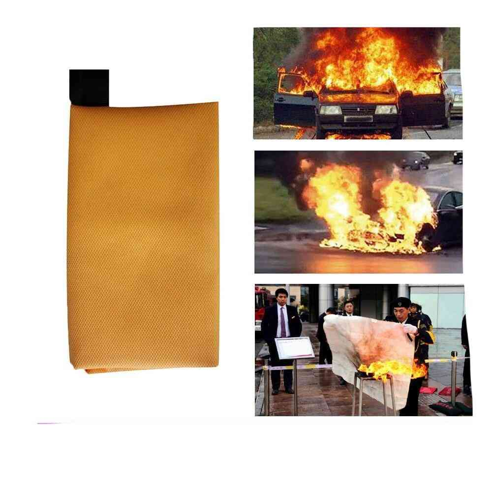 Fighting Fire Extinguishers Tent Boat Emergency Blanket