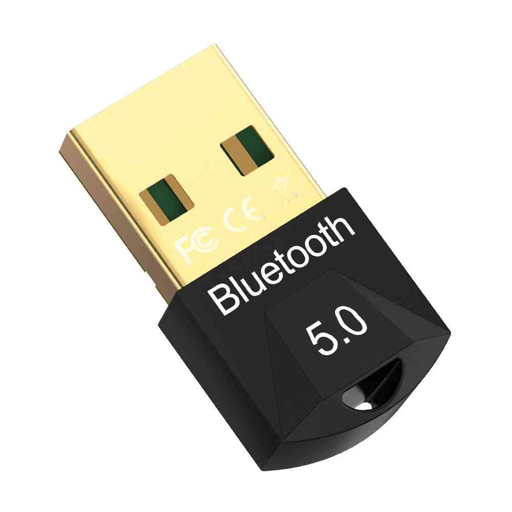 Usb Bluetooth Dongle Adapter 5.0 For Pc Computer Speaker & Wireless Mouse/bluetooth Music Audio Receiver Transmitter Aptx