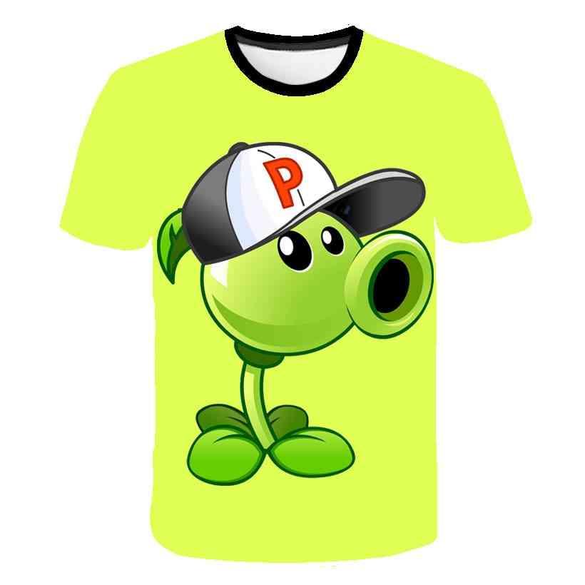 3d Cartoon Printed T-shirt
