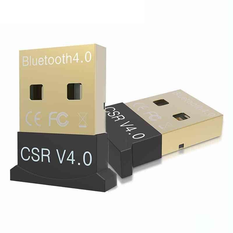 Mini Usb Bluetooth V 4.0 Dual Mode Sem Fio Adaptador & Dongle Bluetooth Csr 4.0 Usb 2.0/3.0 Para