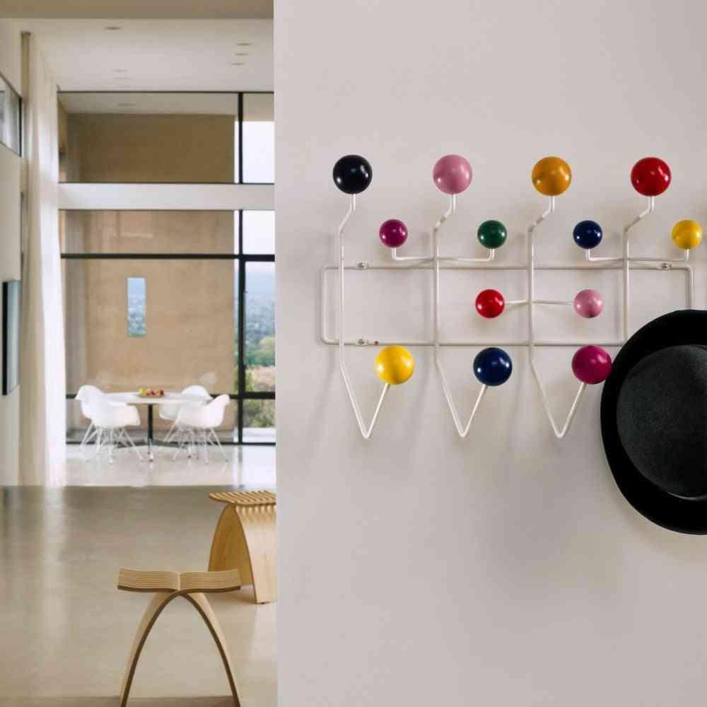 Multicolor Hange Furniture Coat Hanger / Ball Rack Milti-purpose Hook For Wall Ornaments