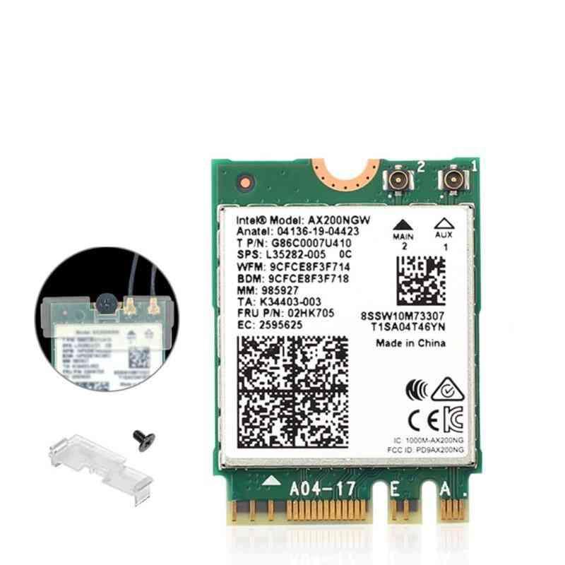 Dual-band Wireless, M.2 Wifi6, Intel Ax200, Bluetooth 5.1 Ngff Laptop, Wifi Card