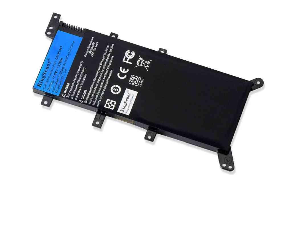 7.5v 37wh, C21n1347 Laptop Battery For Asus