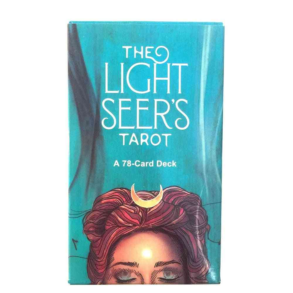 Oracle Light Sheer's Tarot Card Board Game Playing Cards