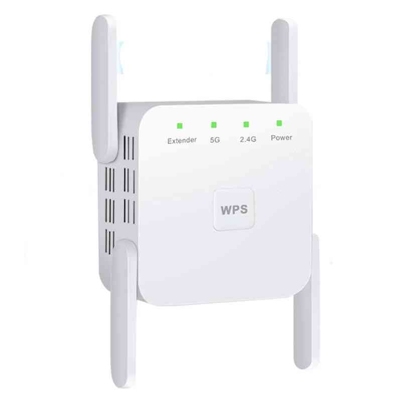 2.4g/5ghz Wireless Wifi Repeater / Booster 300/1200 Mbps / Amplifier Wi-fi Long Range Extender Access Point