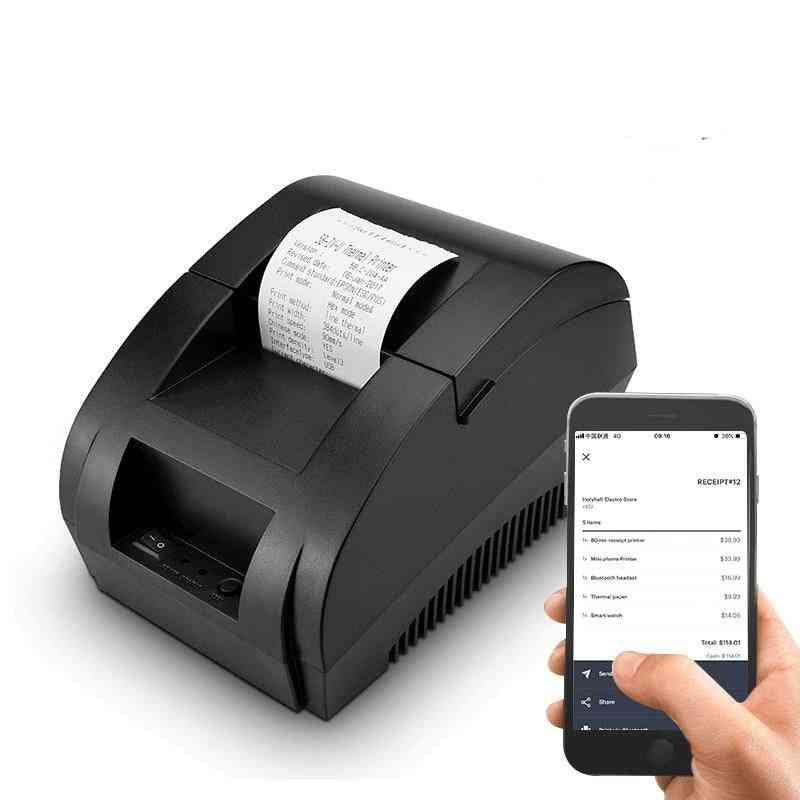 Bluetooth Thermal, Receipt Wireless, Pos Printer For Windows Support Cash Drawer