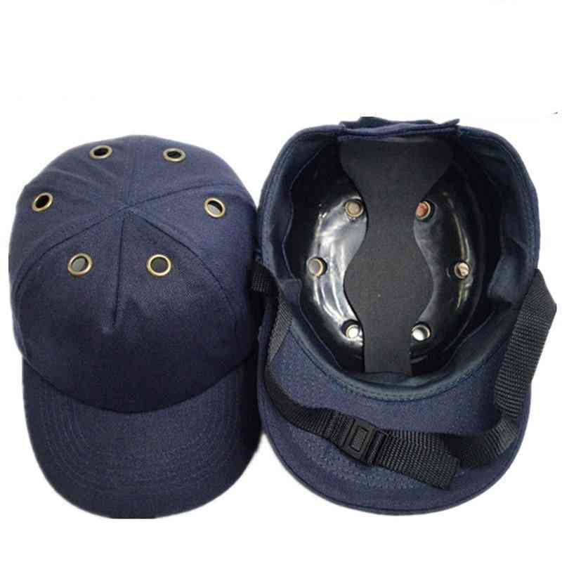 Safety Bump Cap, Helmet Baseball, Protective Hard Hat For Work Site, Wear Head Protection
