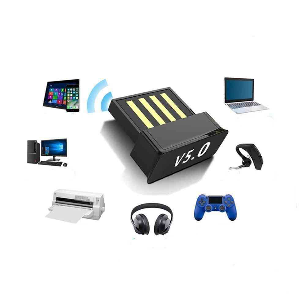 Usb Bluetooth-5.0, Wireless Adapters, Audio Receiver, Transmitter Dongles