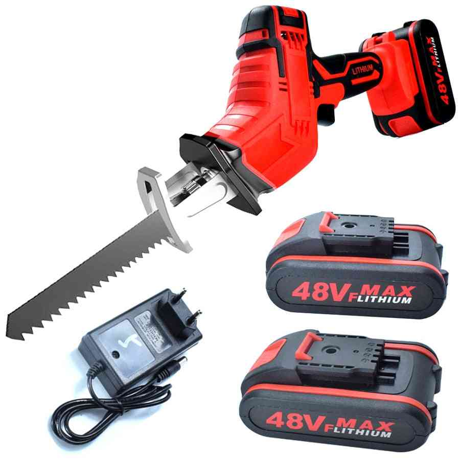 Lithium Battery Cordless Reciprocating Saw
