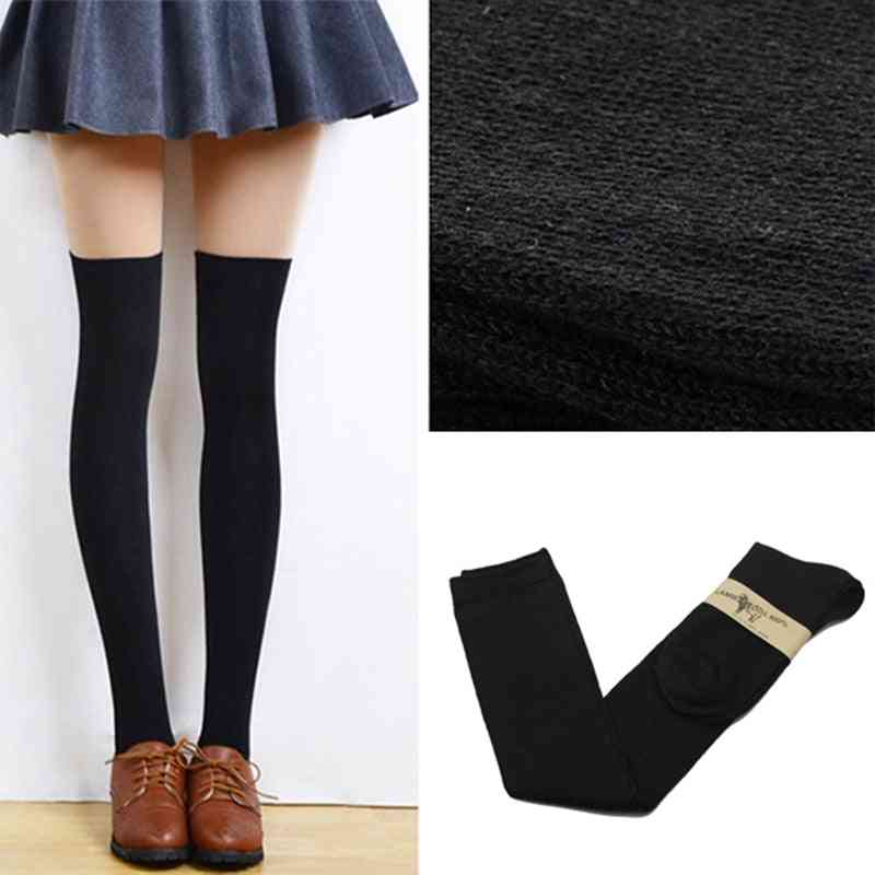 Sexy Warm Thigh High Over The Knee Women Socks