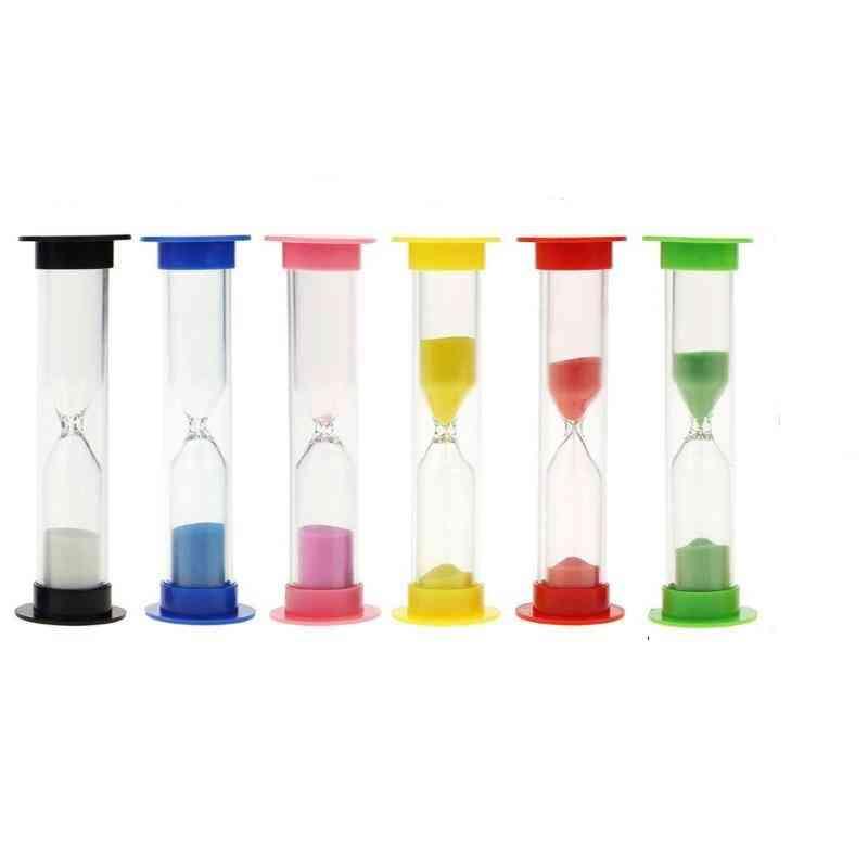 Simple Hourglass Sandglass Sand Clock Timers Kids Craft Home Ornament Decoration