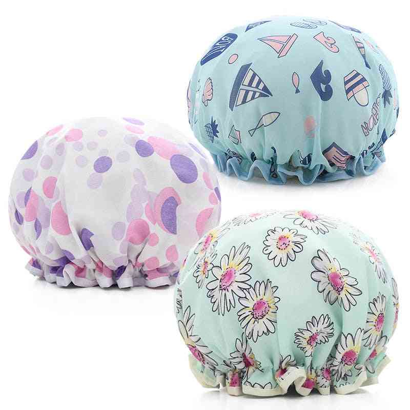 Hair Cover Thick Shower Cap