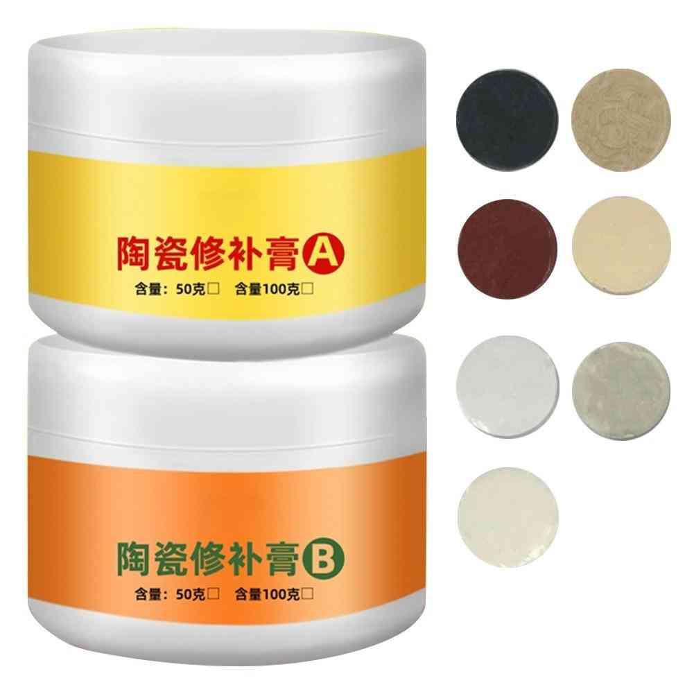 Tile Repair Agent Paste Tub  White  Shower For Fiberglass Porcelain Ceramic