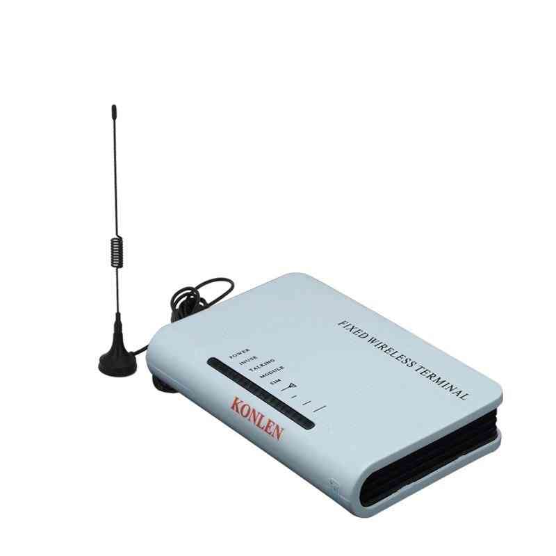 Wireless Fixed Terminal, Home Gsm Sim Card, Insert Fwt Desktop, Phone Call