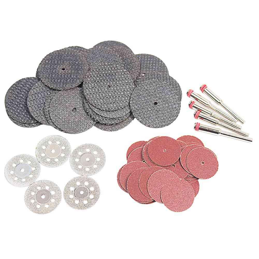 60pc Diamond Cutting Discs Sanding Grinding Wheel Circular Saw Blade