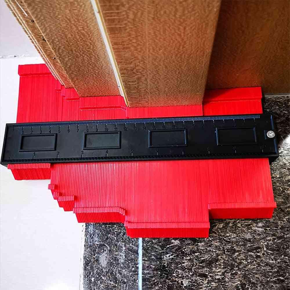 Irregular Contours, Arc Ruler Plastic Gauge, Profile Scale, Tiling Laminate