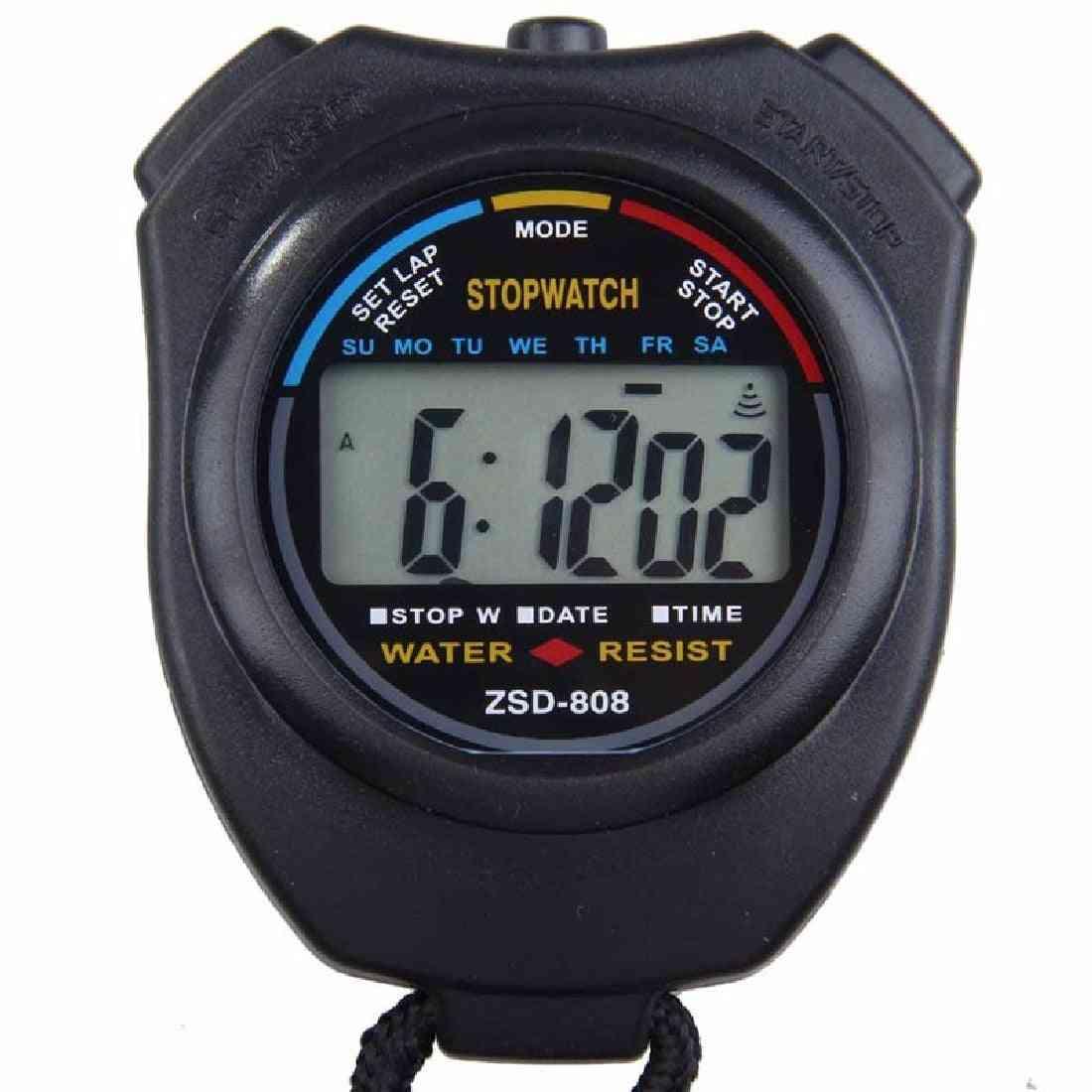 Waterproof Digital Professional Sports Stopwatch