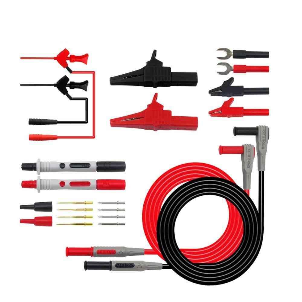 P1300 Series Replaceable Multimeter Probe Test Hook Lead Kit