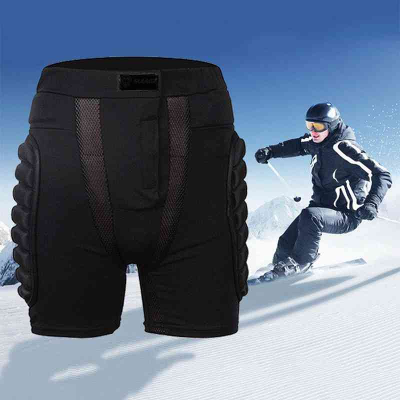 Sports Gear Shorts, Protective Skate Skateboard & Snowboard Protection Hip Pad Resistance