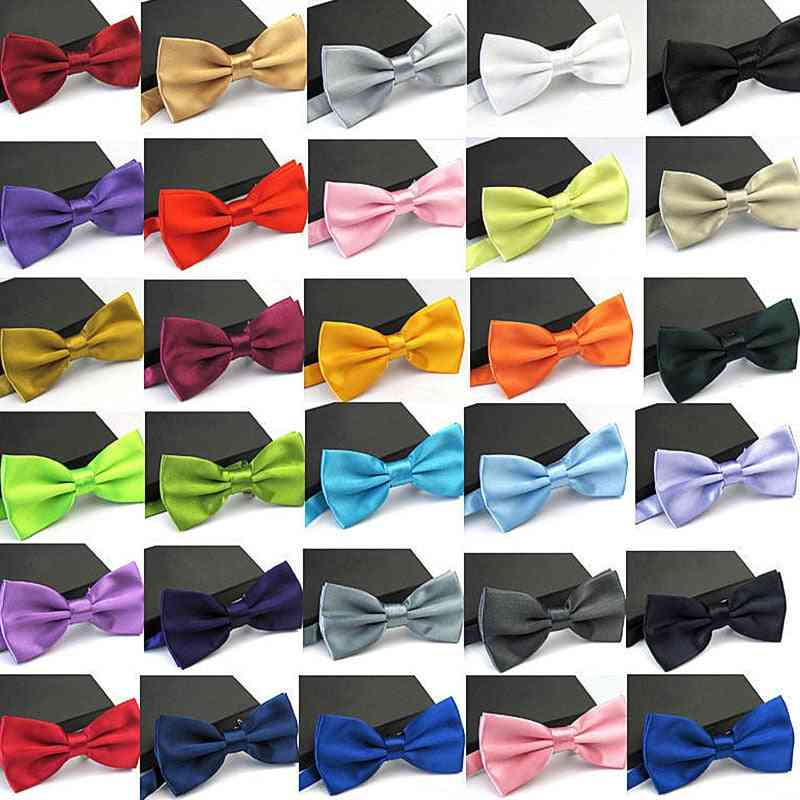 35-colors Bowties Groom Formal, Cravat Marriage Butterfly, Wedding Bow Ties