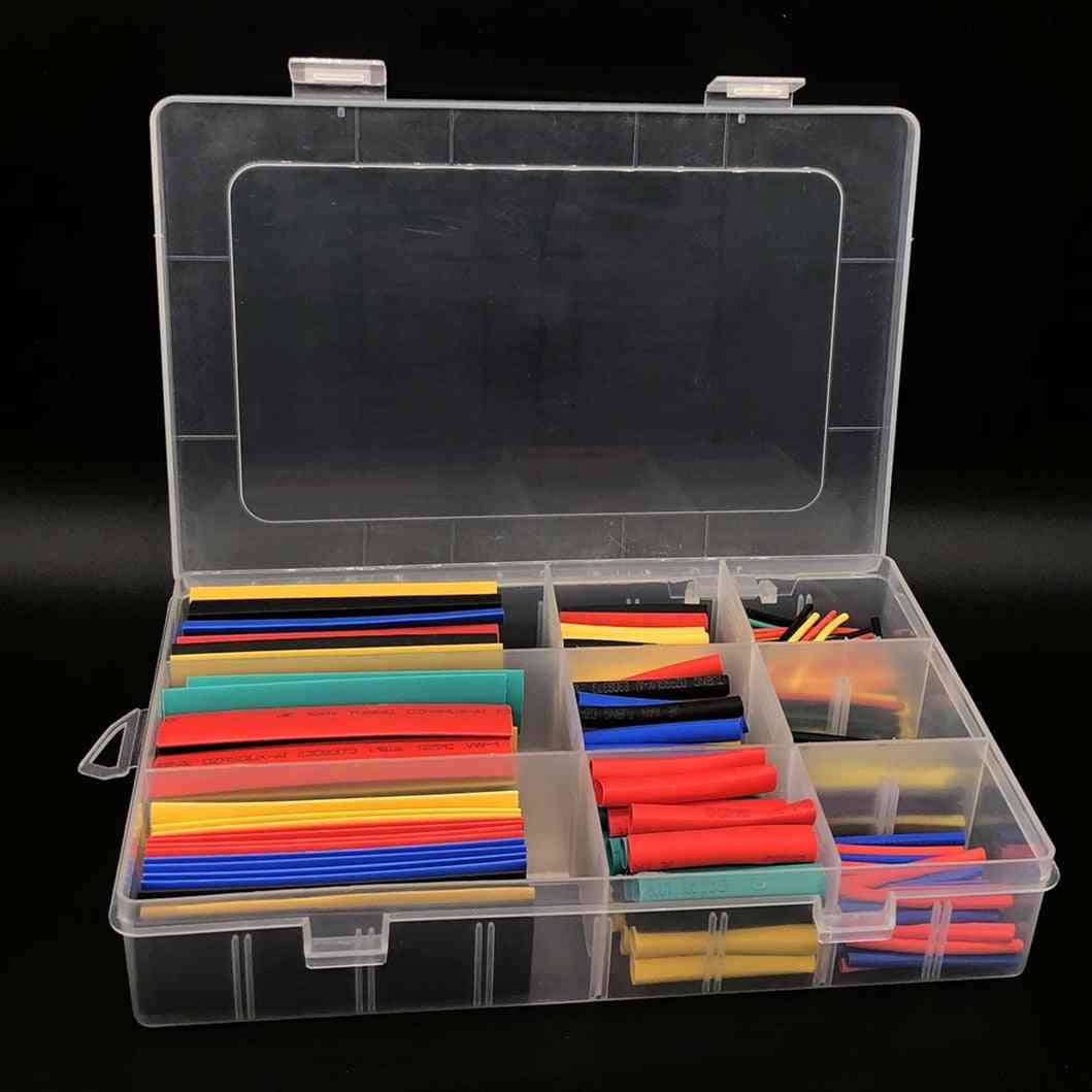 Heat Shrink Tube Tubing Insulation Electronic Polyolefin Wire Cable Sleeve Kit