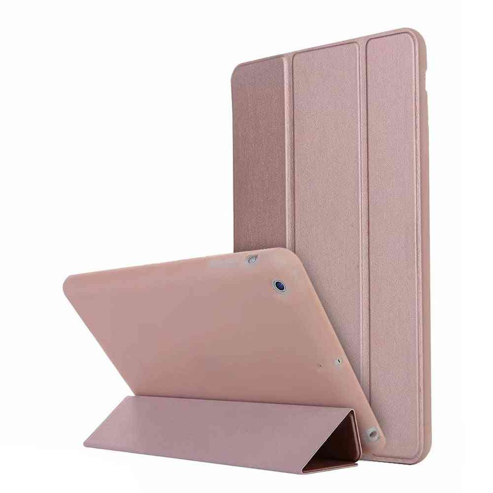 Smart Case, Pu Leather Silicone Soft Back Cover