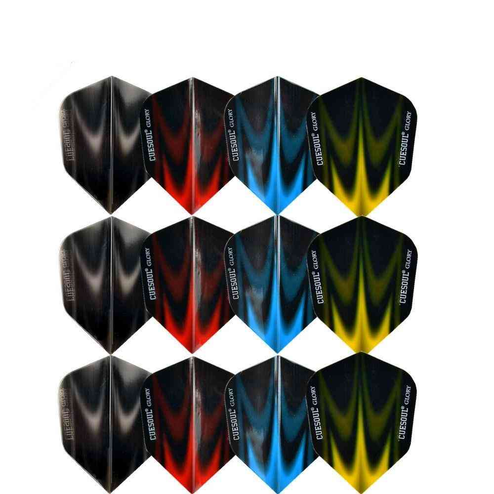 Translucent Dart Flights Tails Wings Dardos Feather Leaves For Dartboard