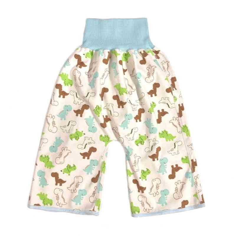 Anti Bed-wetting, Diaper Skirt Shorts, Cotton Nappy Pants For